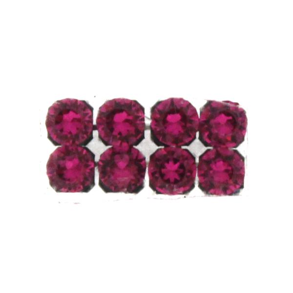 Fuchsia Swarovski Crystal Mesh 3mm 8st