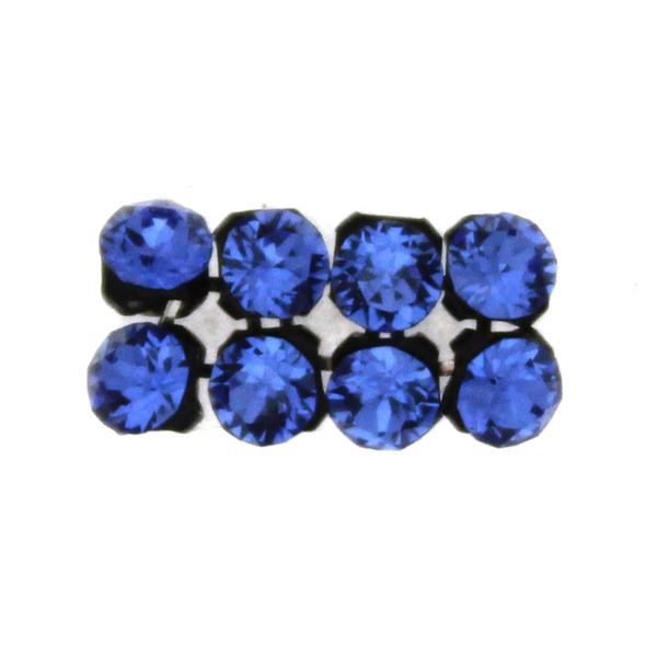 Sapphire Swarovski Crystal Mesh 3mm 8st