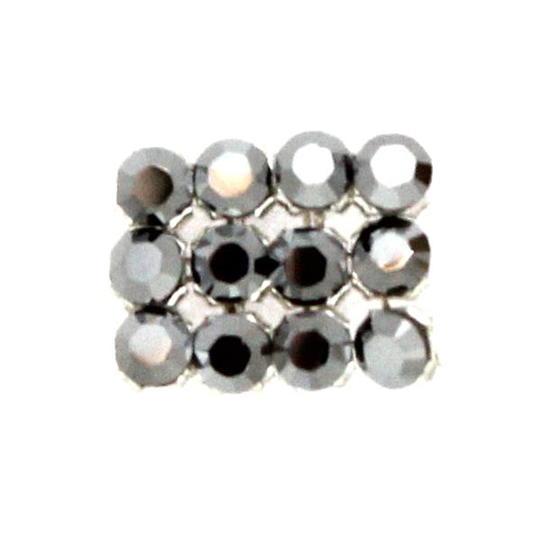 Crystal Light Chrome Swarovski Crystal Mini Mesh 1,7mm 12st