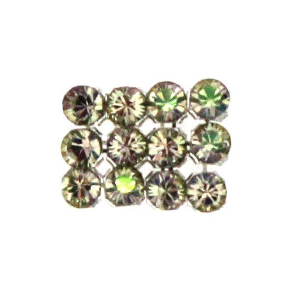 Crystal Luminous Green Swarovski Crystal Mini Mesh 1,7mm 12st