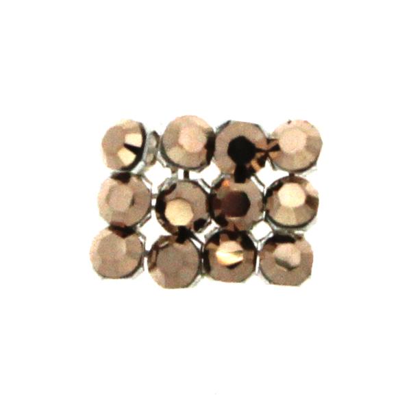 Crystal Rose Gold Swarovski Crystal Mini Mesh 1,7mm 12st