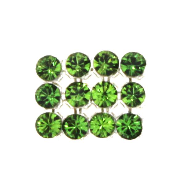Fern Green Swarovski Crystal Mini Mesh 1,7mm 12st