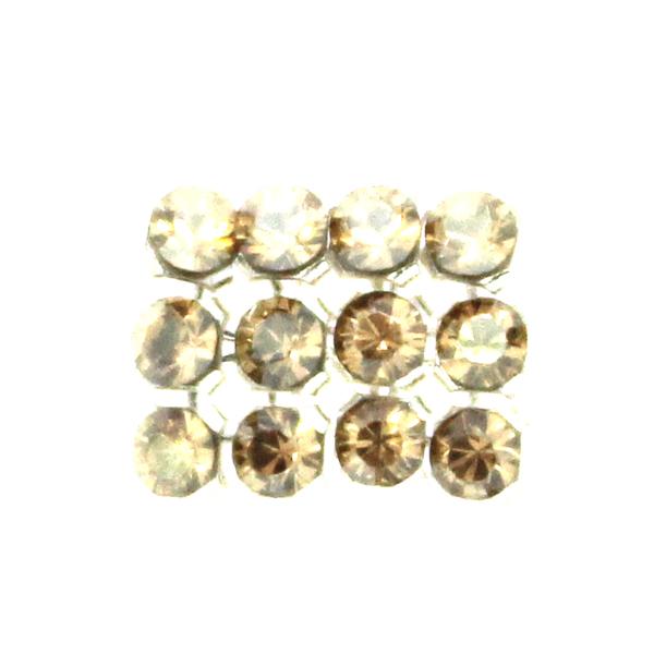 Crystal Golden Shadow Swarovski Crystal Mini Mesh 1,7mm 12st