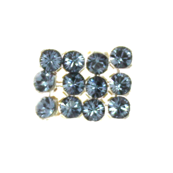 Denim Blue Swarovski Crystal Mini Mesh 1,7mm 12st
