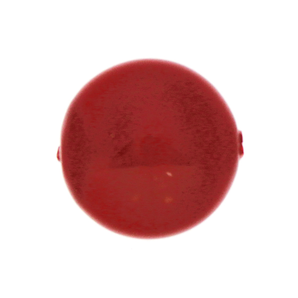 Red Coral Swarovski Coin Pearl 14mm 5860 1st