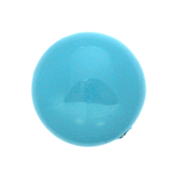 Turquoise Swarovski Coin Pearl 14mm 5860 1st