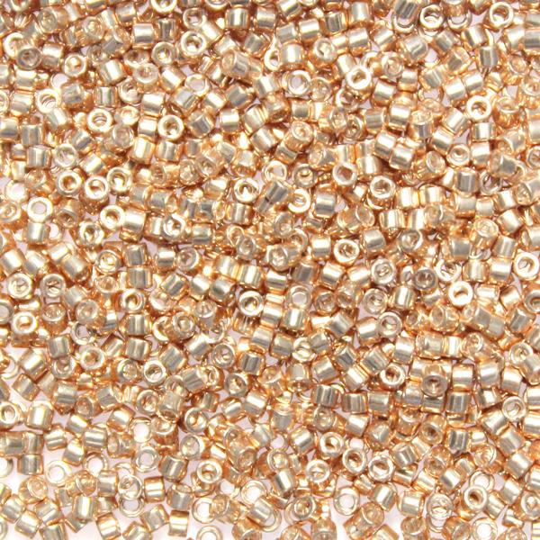 Galvanized Apricot Gold DB-0411 Delicas 11/0 5g
