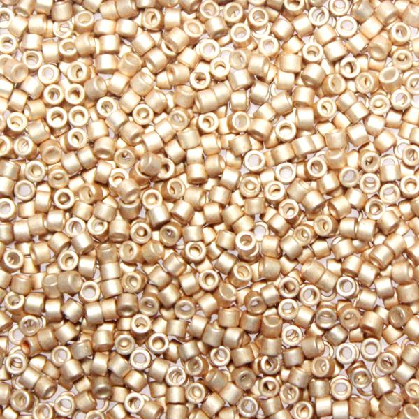 Galvanized Semi-matte Champagne DB-1152 Delicas 11/0 5g