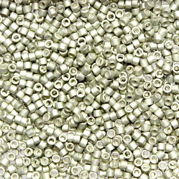 Galvanized Semi-matte Aloe DB-1181 Delicas 11/0 5g