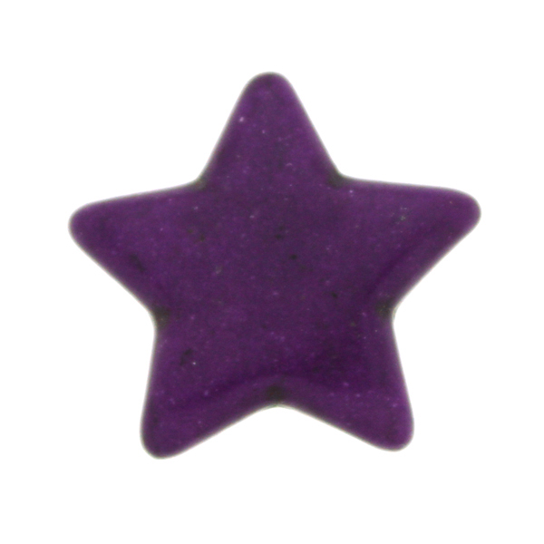 Lila Howlit Stjärnor 25mm 1st