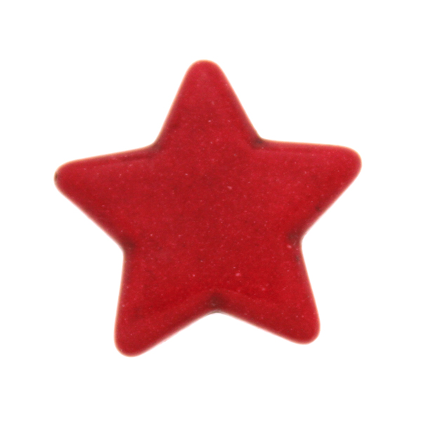 Röd Howlit Stjärnor 25mm 1st