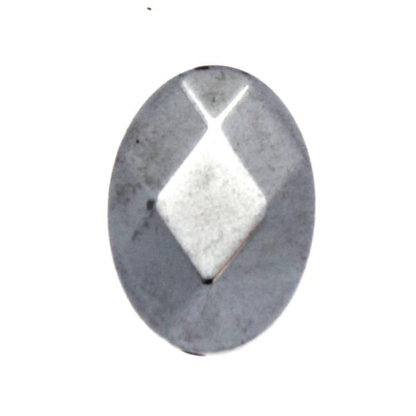 Silver Hematit Oval 18x13mm 1st