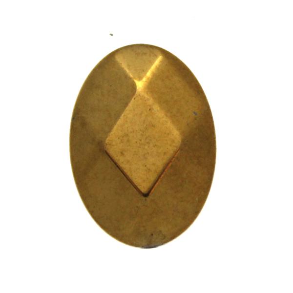 Guld Hematit Oval 18x13mm 1st