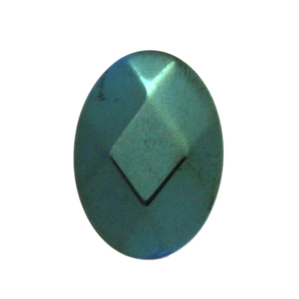Grön Hematit Oval 18x13mm 1st
