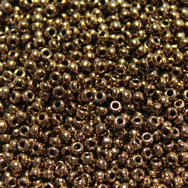 Metallic Dark Bronze 11-0457 Miyuki 11/0 10g
