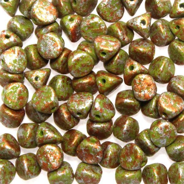 Opaque Olive Tweedy Copper Ilos 10g