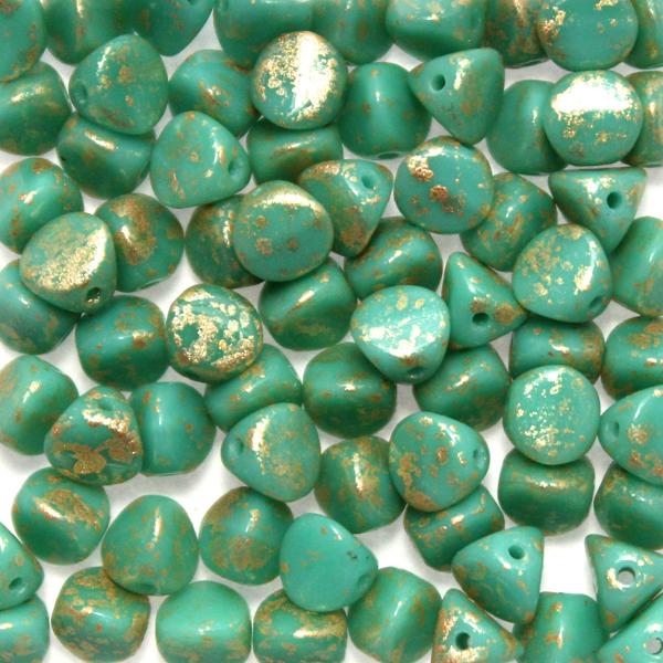 Green Turqoise Gold Splash Ilos 10g
