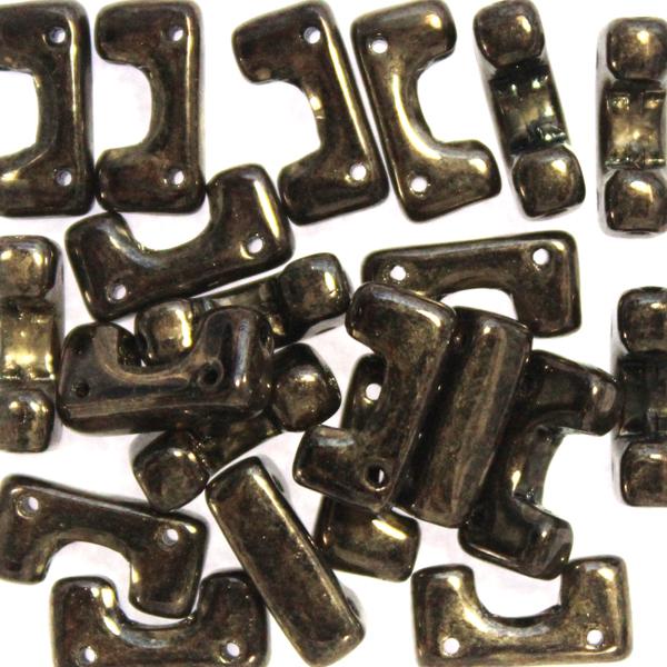 Jet Dark Gold Bronze Telos 10g