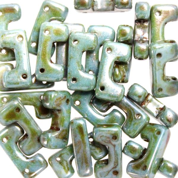 Opaque White Mix Blue/Green Telos 10g