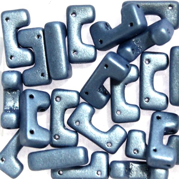 Metallic Suede Blue Telos 10g