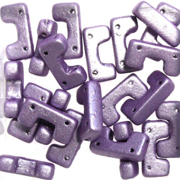 Metallic Suede Purple Telos 10g