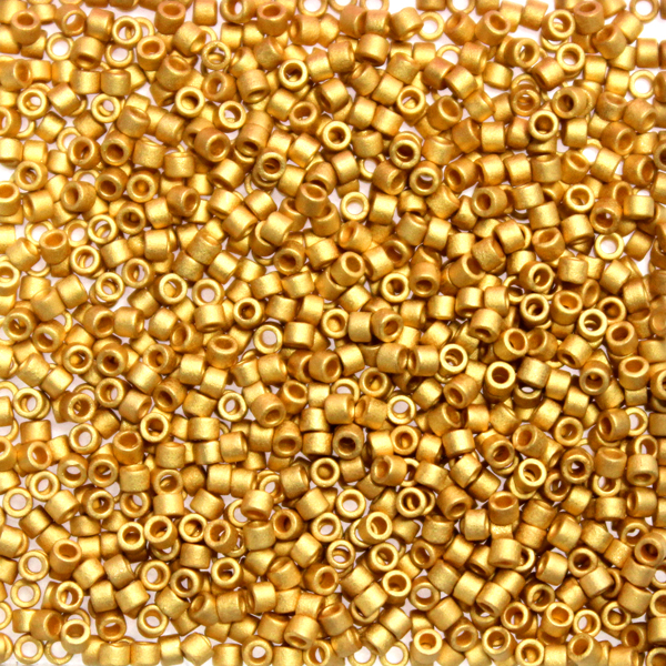 Matte 24kt Gold Plated DB-0331 Delicas 11/0 5g