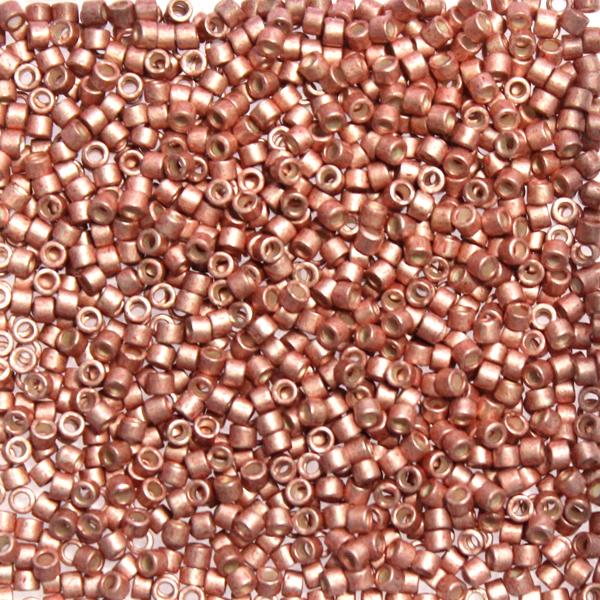 Galvanized Semi-matte Pink Blush DB-1156 Delicas 11/0 5g
