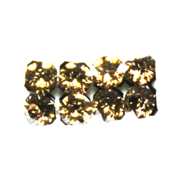 Crystal Golden Shadow Swarovski Crystal Mesh 3mm 8st