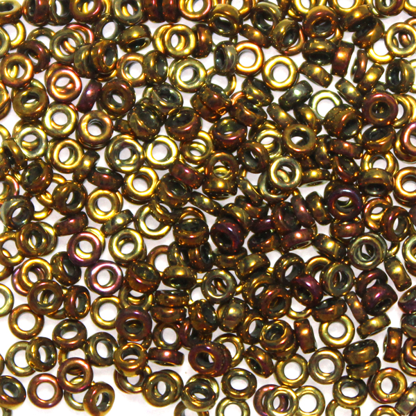 Metallic Gold Iris SPR3-0462 Spacer 3x1,3mm 5g