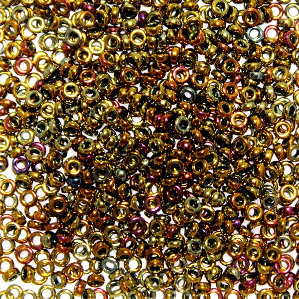 Metallic Gold Iris SPR2-0462 Spacer 2,2x1mm 5g