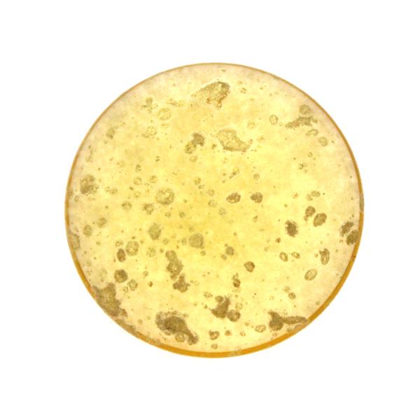 Light Topaz Gold Splash Cabochon Par Puca 25mm 1st