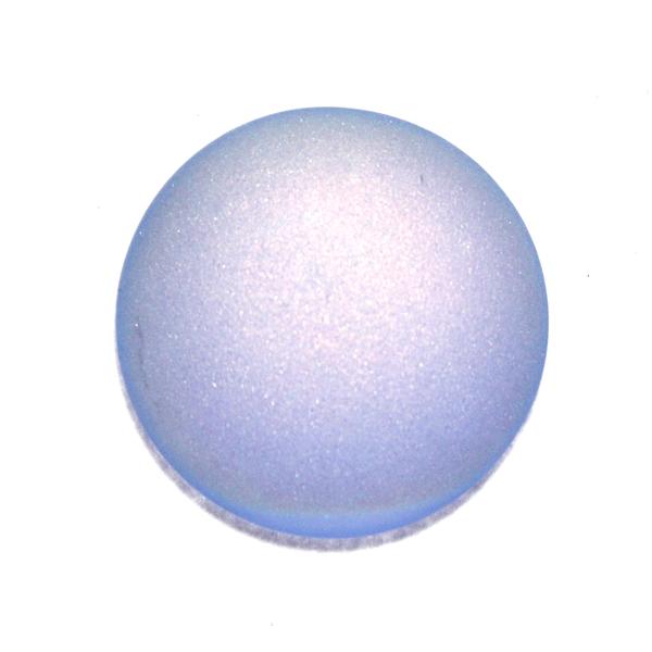 Light Sapphire Mat AB Cabochon Par Puca 25mm 1st