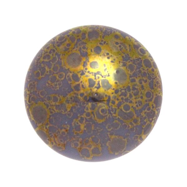 Purple Teracota Bronze Cabochon Par Puca 25mm 1st
