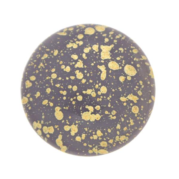 Purple Gold Splash Cabochon Par Puca 25mm 1st