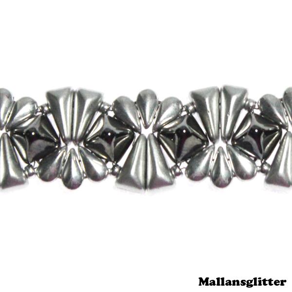 Veromid Bracelet Kit Silver (EJ MÖNSTER ENDAST PÄRLOR)