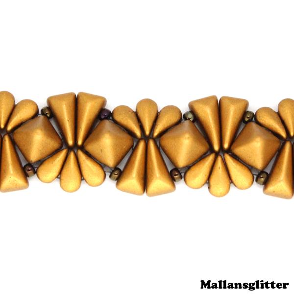 Veromid Bracelet Kit Brons (EJ MÖNSTER ENDAST PÄRLOR)