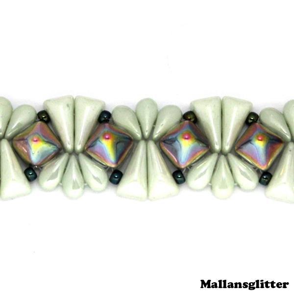 Veromid Bracelet Kit Grön (EJ MÖNSTER ENDAST PÄRLOR)