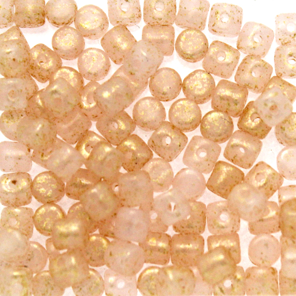 Light Pink Opal Gold Splash Minos 5g