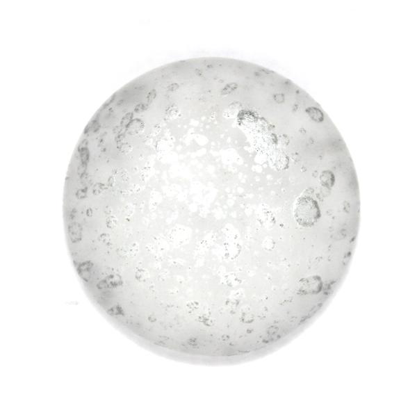 Crystal Mat Silver Splash Par Puca 25mm 1st