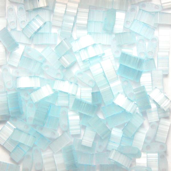 Silk Pale Light Blue HTL2561 Miyuki Half Tila 5g