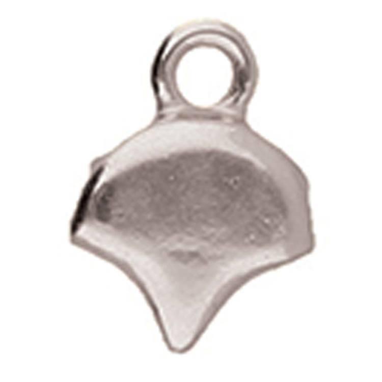 Cymbal Karavos Silverpläterad 7,9x10,4mm 2 st