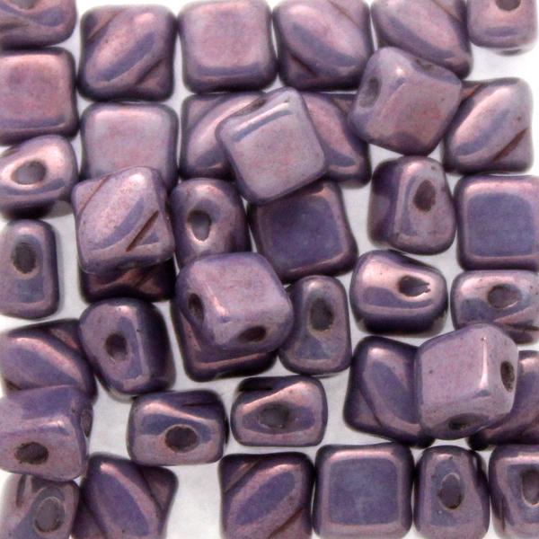 Alabaster Lila Vega Luster Silky Beads Mini 40st