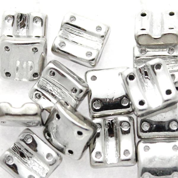 Crystal Labrador Full Fixer Bead Vertical Holes 5g