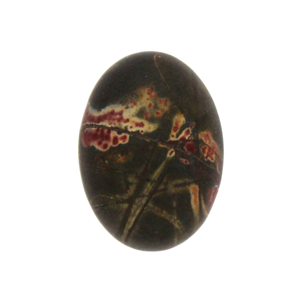 Picasso Jaspis Cabochon Oval 30x22mm 1st