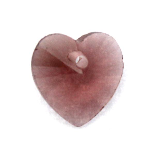 Wine Hjärta Glas 10x10mm 1st