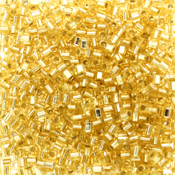 Silverlined Gold SB18-0003 Miyuki 1,8mm Cube 10g