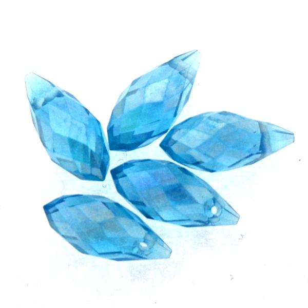 Aqua AB Droppe Glas 12x6mm 1st