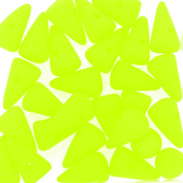 Neon Yellow Spikes 5x8mm 5g