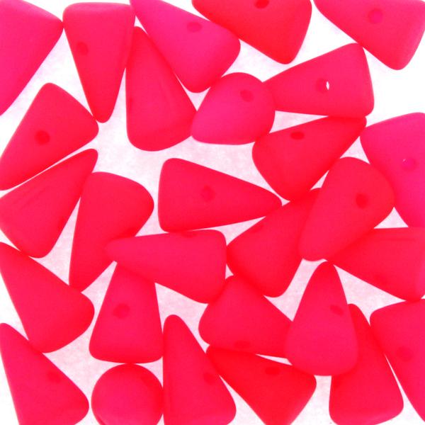 Neon Pink Spikes 5x8mm 5g