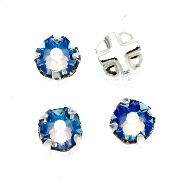Black Diamond Shimmer Swarovski Rose Montées ss30 53103 4st